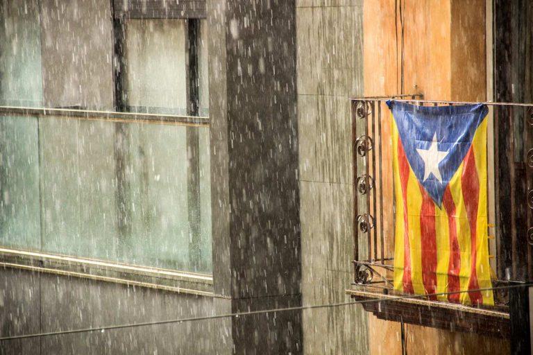 pluja bandera estelada