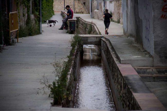 aigua barri del rec running